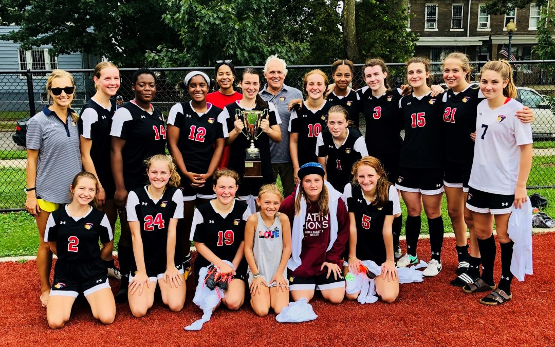 Girls Varsity Soccer Wins Petworth Cup!